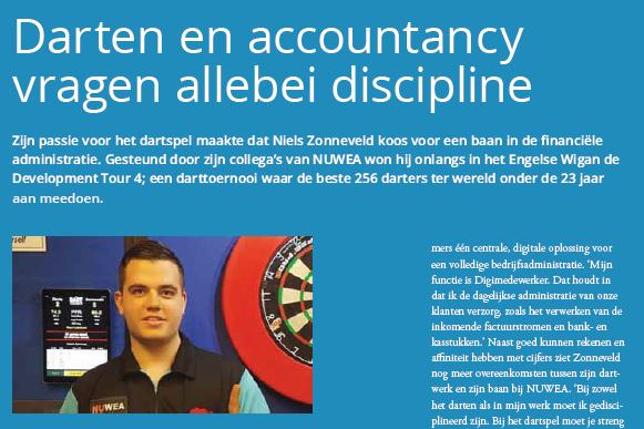 Niels Zonneveld over darten en NUWEA